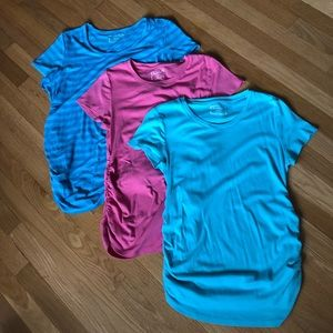 Bundle of 3 Motherhood Maternity tees